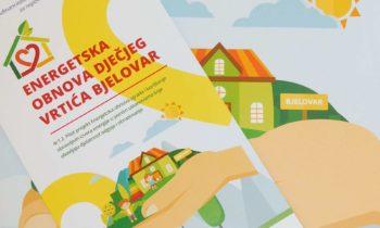 Završena energetska obnova Dječjeg vrtića Bjelovar