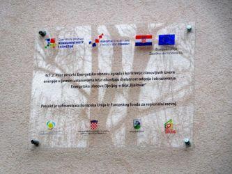 """Završna konferencija projekta """"Energetska obnova Dječjeg vrt"""
